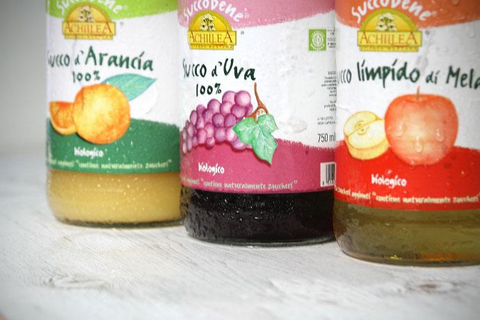 イタリア・アキレア 100%ジュース3本セット