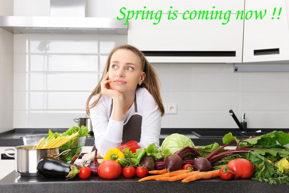 春のイタリア食材