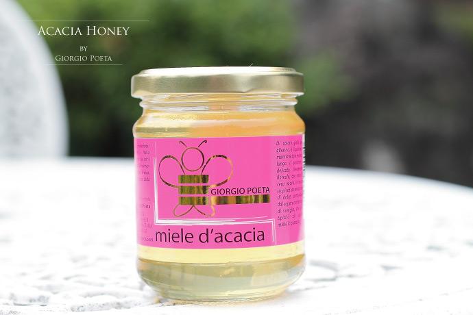 ハチミツ アカシア ジョルジオ・ポエタ社 イタリア産 (Italian acacia honey by Giorgio Poeta)