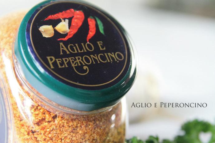 (ペペロンチーノ&ガーリックパウダー)Aglio & Peperoncino