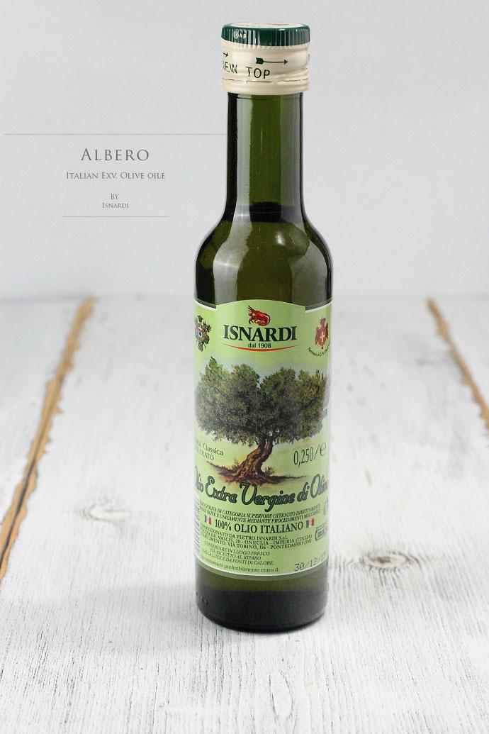 アルベロ 繊細なオリーブオイル イスナルデ社 イタリア産 (Italian Exv Olive oile Light type Albero by Isnardi)