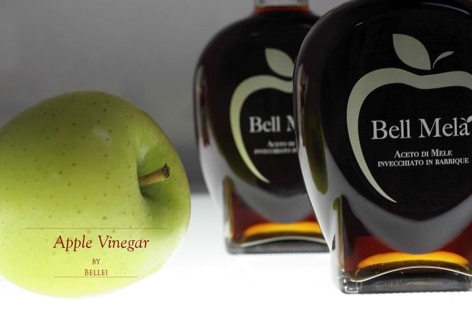 アップルビネガー (リンゴ酢) ベレイ社 イタリア産 (Italian apple vinegar by Bellei)