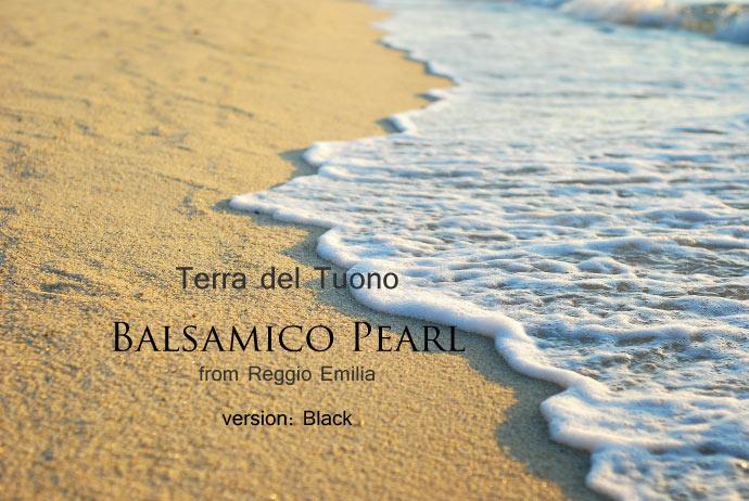 Perle di Balsamico (Balsamico Pearl) バルサミコパール タイトル