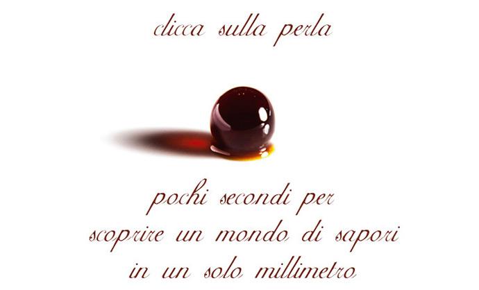 Perle di Balsamico (Balsamico Pearl) バルサミコパール イメージ