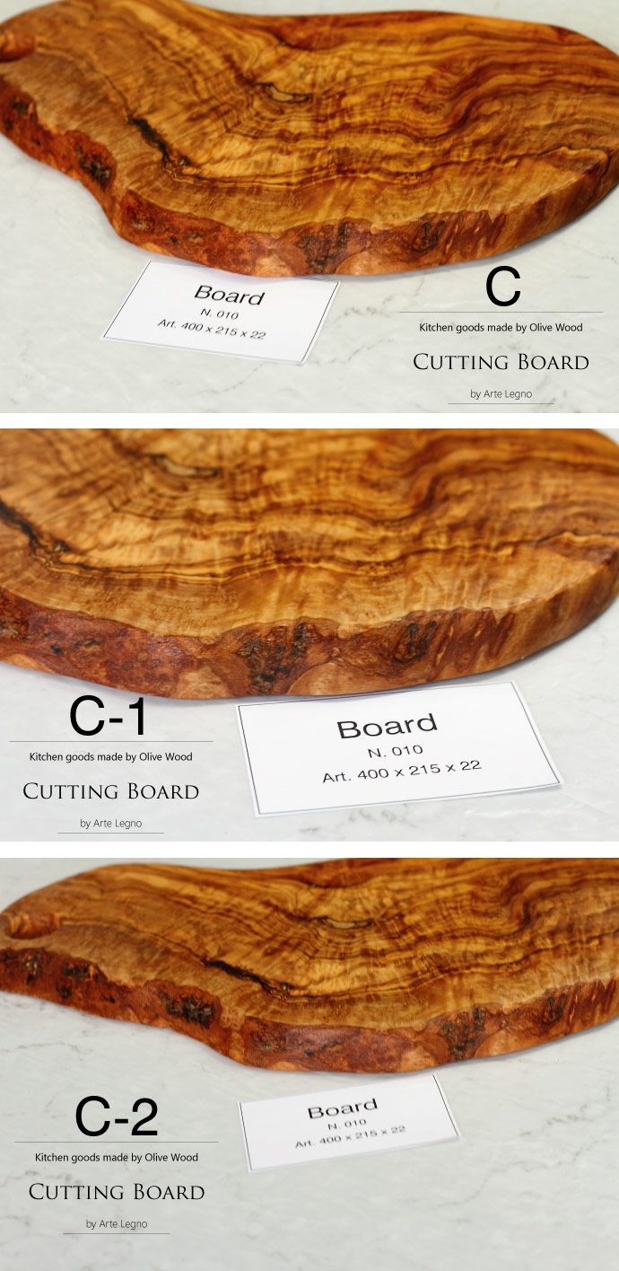 カッティングボード No.10 アルテレニョ社 イタリア製 (Italian Cutting Board made by Arte Legno Olive Wood)