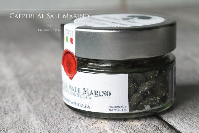 大粒ケッパー フラントイ・クトレラ社 イタリア産 (Italian Caper by Frantoi Cutrera)