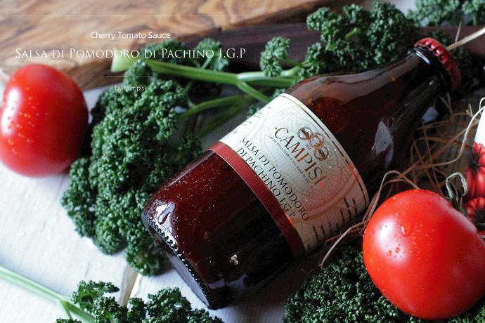 パキーノ・チェリー・トマトソース Campisi社 イタリア産 (Italian Pachino Cherry Tomato Sauce) タイトル2