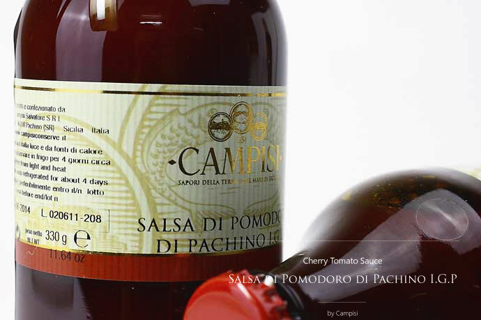 パキーノ・チェリー・トマトソース Campisi社 イタリア産 (Italian Pachino Cherry Tomato Sauce)