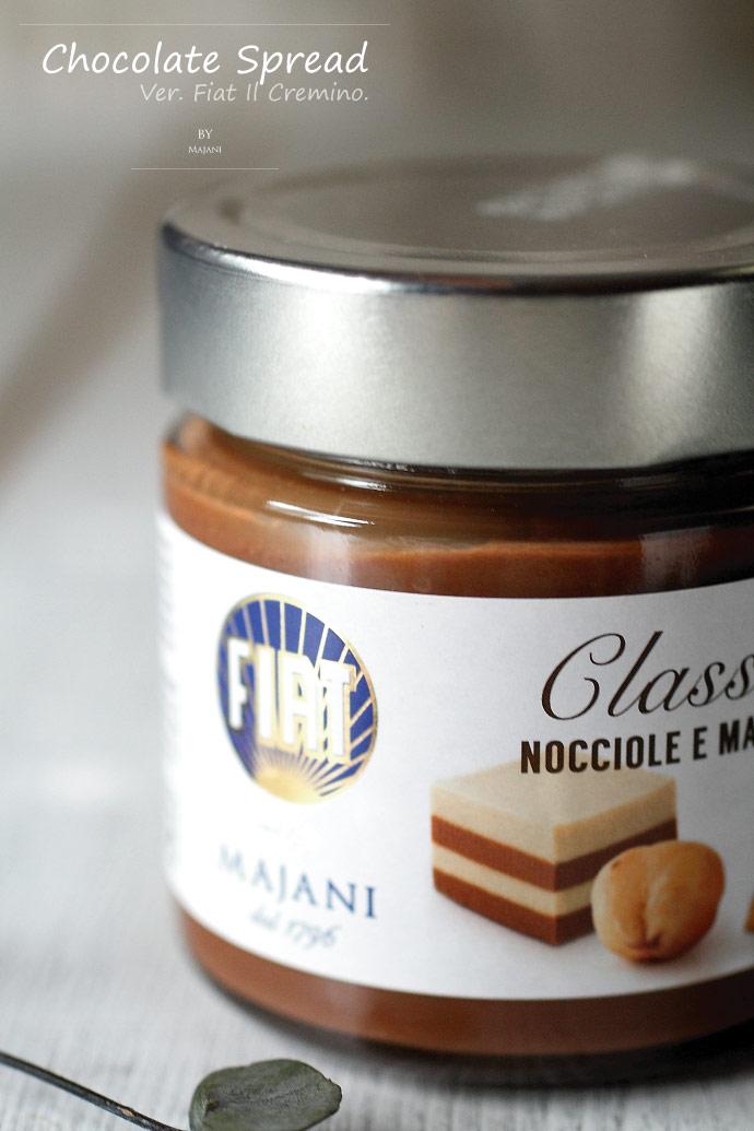 チョコスプレッド クレミーノ マイアーニ社 イタリア産 (Italian chocolate spread FIAT il Cremino by Majani)