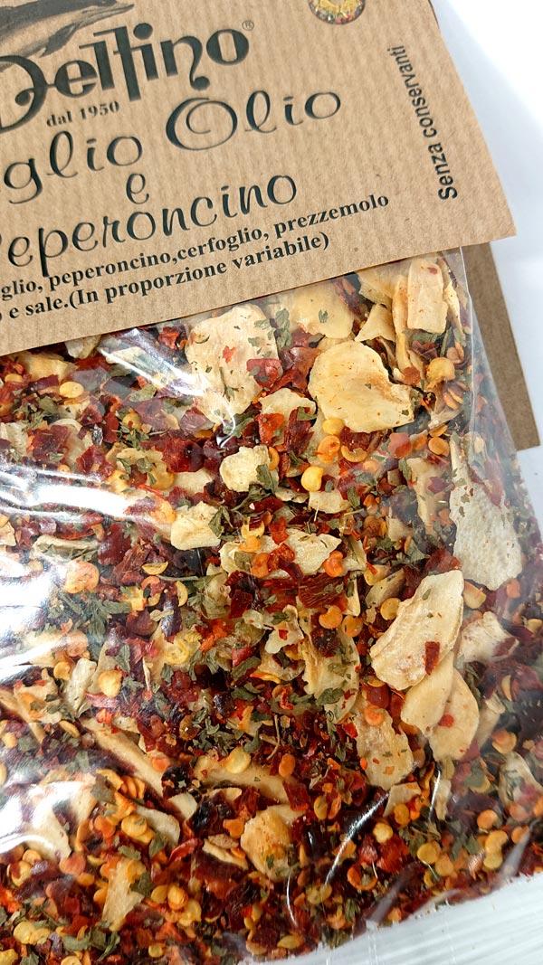 delfino spice ペペロンチーノスパゲッティの素  スパイス
