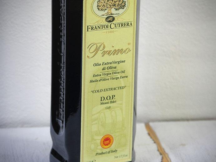 primo DOP 500ml Frantoi Cutrera プリモ・ディー・オー・ピー