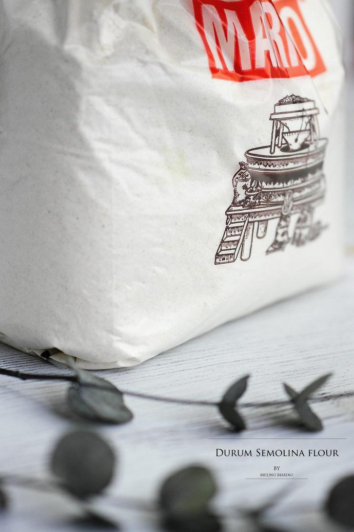 デュラムセモリナ粉 イタリア産 Mulino Marino社 (Italian Durum Semolina flour)