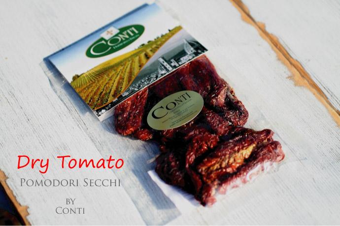 Conti ドライトマト サンマルツァーノ種 イタリア産 (Italian Dry Tomato San Marzano)