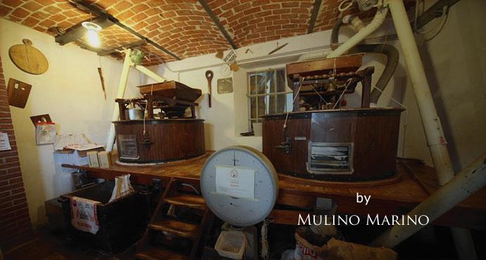 イタリアの小麦老舗メーカー ムリノ・マリノの工場 (Factory Italian old maker of flour mill Murino Marino)