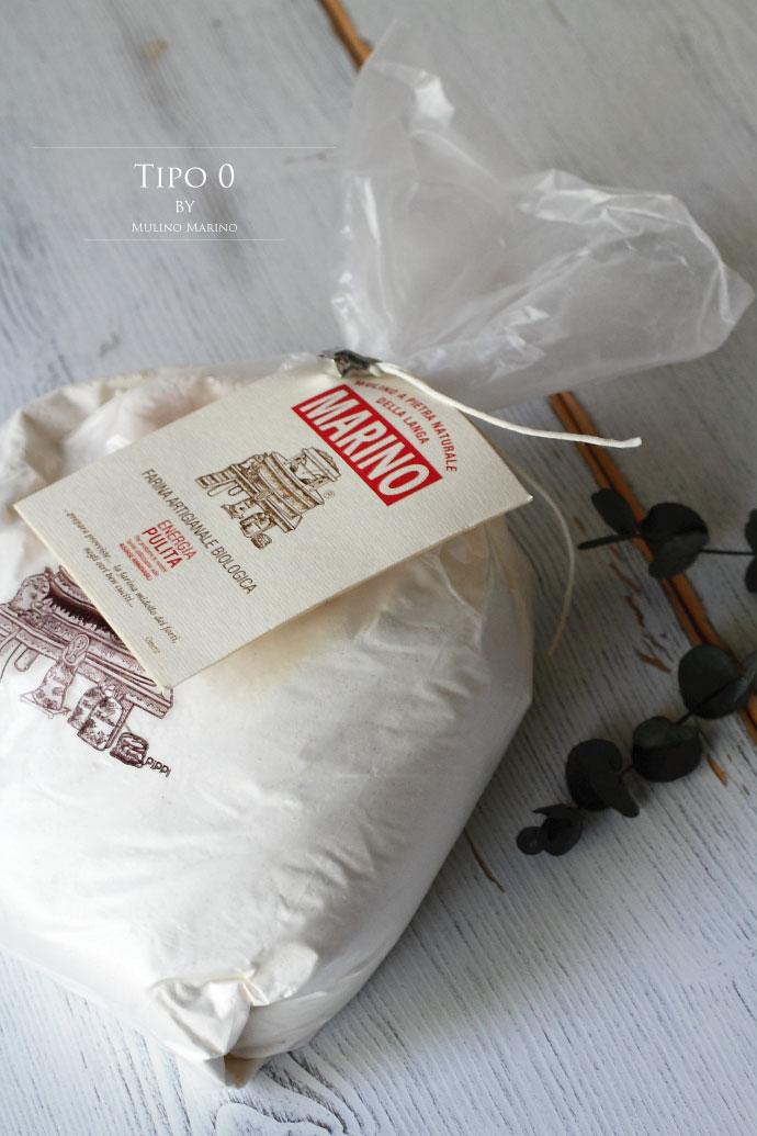 軟質小麦粉0番 (Farina0) ムリーノマリーノ社 イタリア産 (Italian Soft Wheat 0 by Mulino Marino)