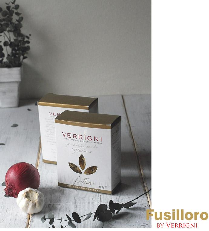 イタリア産 金のパスタ(ゴールド・ライン)・フジロォロ250g BOX