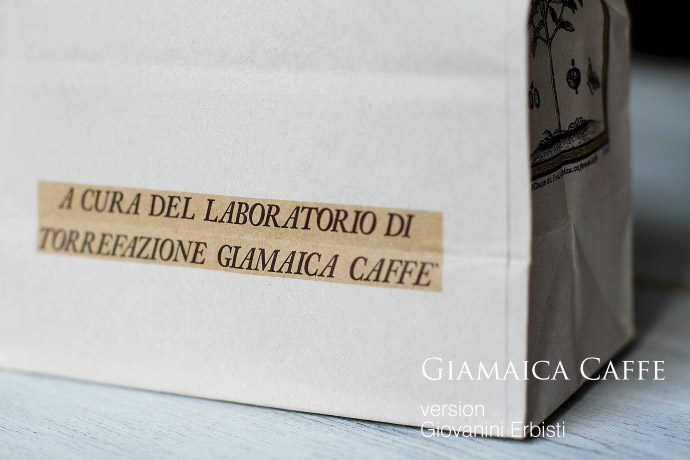 Giovanini Erbisti by Giamaica caffe (ジョバンニ・エルビスティ/ジャマイカ・カフェ)