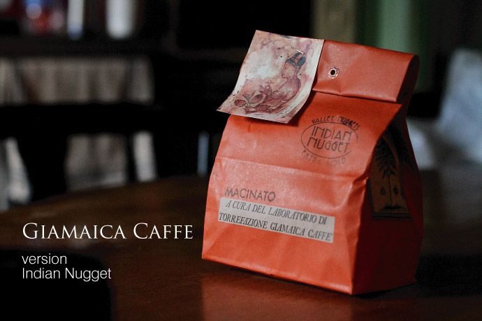 Indian Nugget by Giamaica caffe (インディア/ジャマイカ・カフェ) タイトル2