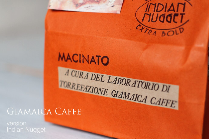 Indian Nugget by Giamaica caffe (インディア/ジャマイカ・カフェ)