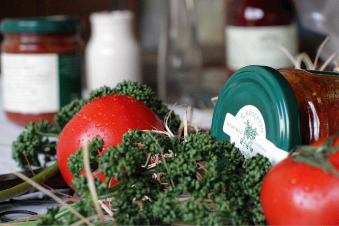 ソースTOP イル・モンジェット社 イタリア産 (Italian caper tomato sauce by il mongetto)