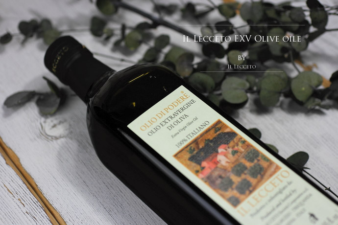 イル・レッチェート エキストラバージンオリーブオイル イタリア・トスカーナ産 (Italian EXV olive oile by il lecceto)