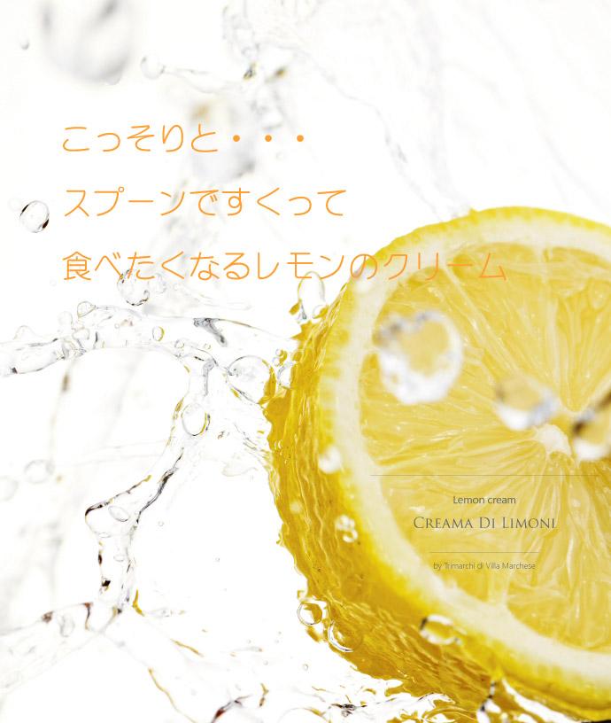 レモンクリーム トリマルキ社 イタリア産 (Italian Lemon cream by Trimarchi) イメージ