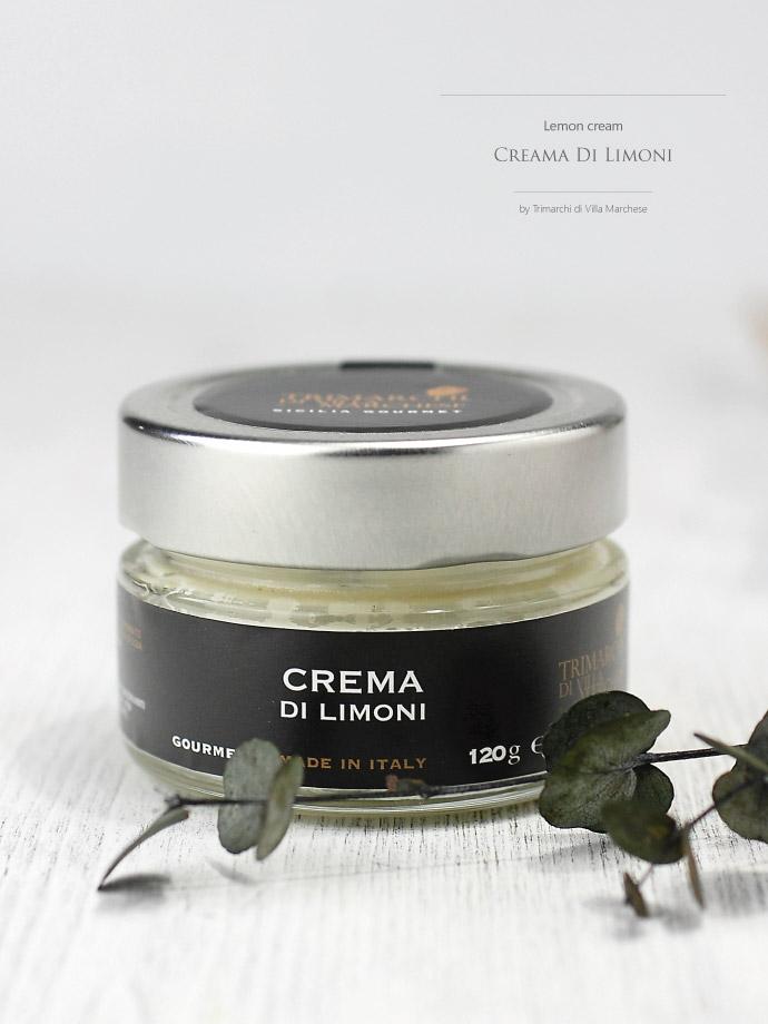 レモンクリーム トリマルキ社 イタリア産 (Italian Lemon cream by Trimarchi)