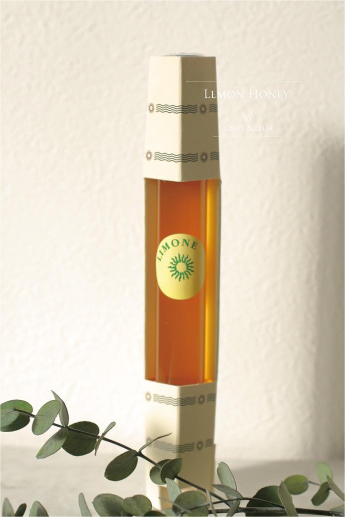 レモン蜂蜜 カフェ シチリア社 イタリア シチリア産 (Italian lemon honey by caffe sicilia)