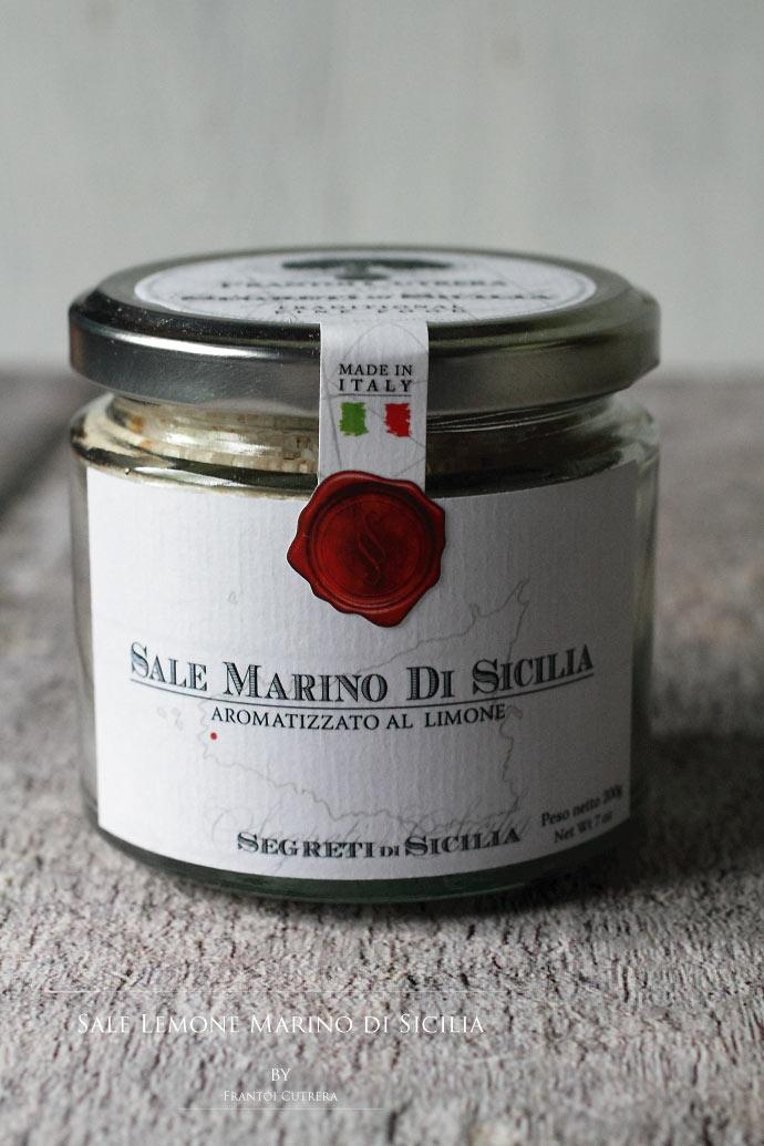 レモンソルト フラントイ・クトレラ社 シチリア イタリア産 (Italian Lemon Sicilia salt by Frantoi Cutrera)