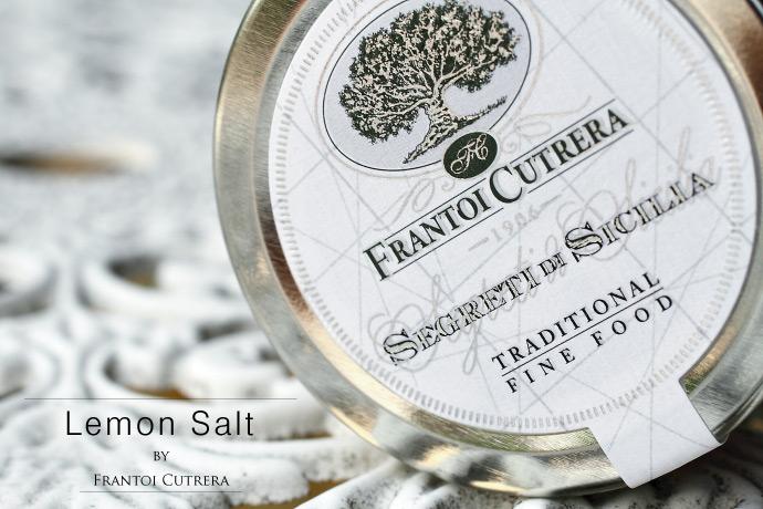 レモンソルト フラントイ・クトレラ社 100g シチリア イタリア産 (Italian Lemon Sicilia salt by Frantoi Cutrera)