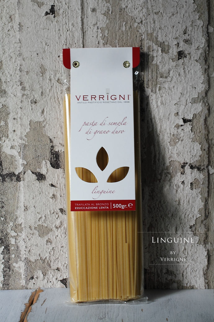リングイネ ベリーニ (ヴェリーニ)社 イタリア産 (Italian Linguine by Verrigni)