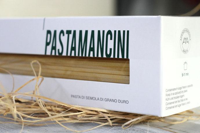 パスタ・マンチーニのパスタ2.2mm500g箱入