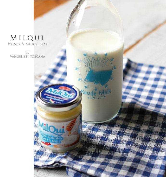 Milqui ハチミツ屋さんのミルクスプレッド