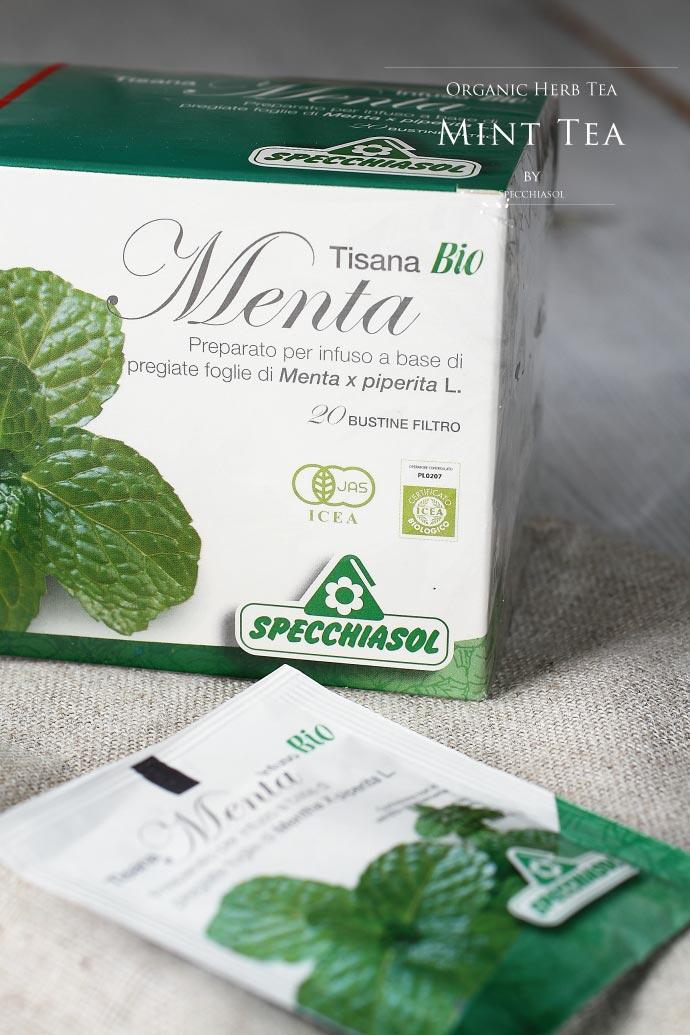 オーガニック・ミントティー スペッキアソル社 イタリア産 (Italian Mint tea by Specchiasol)