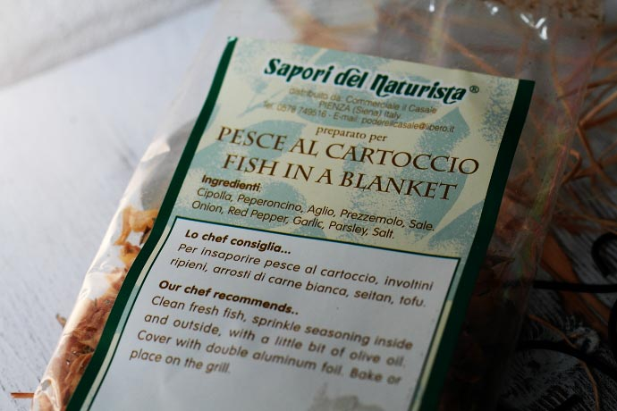 イタリア産スパイス 「ペッシェ」クラブ・デル・ナチュリスタ
