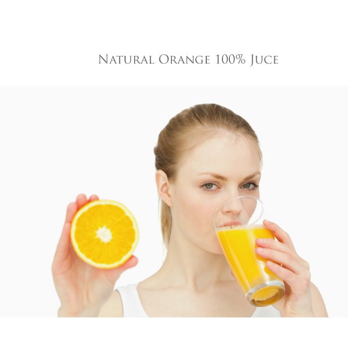 オーガニック・オレンジジュース100%