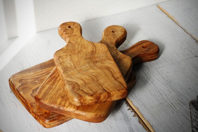 オリーブの木 カッティングボード