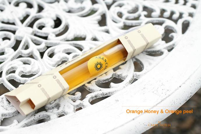 オレンジ蜂蜜 カフェ シチリア社 イタリア シチリア産 (Italian orange honey by caffe sicilia)