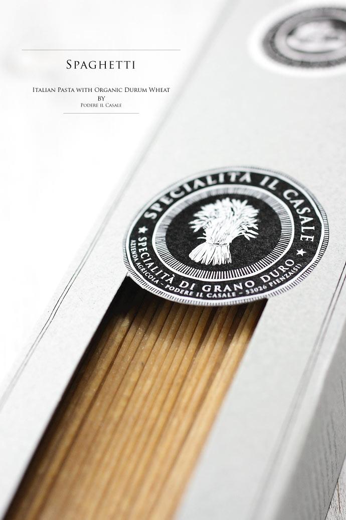 オーガニック パスタ ポデーレ・イル・カサーレ イタリア産 (Italian organic pasta by Podere il Casale)