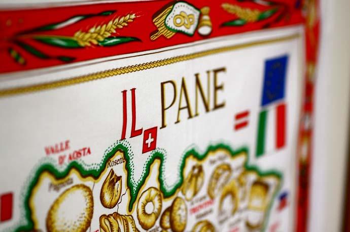 イタリア・Conti社タペストリーイタリアマップ: パン