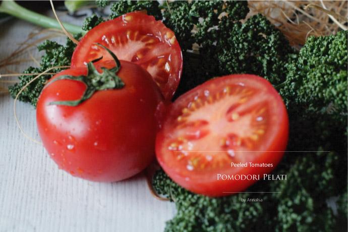 ホール・トマトソース アナリサ社 イタリア産 (Italian Whole tomato sauce by Annalisa) イメージ