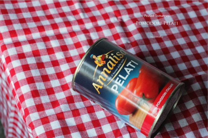 ホール・トマトソース アナリサ社 イタリア産 (Italian Whole tomato sauce by Annalisa)