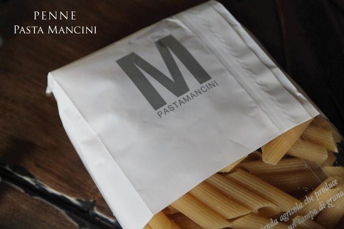 ペンネ マンチーニ社 イタリア産 (Italian Penne by Mancini)