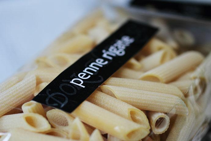 イタリア産 Don Alfonso レストラン・ドンアルフォンソのペンネ・リガーテ500gのアップ