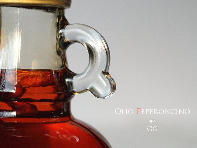 ペペロンチーノ・オリーブオイル GG社 (Olio Peperoncino by GG) イタリア産