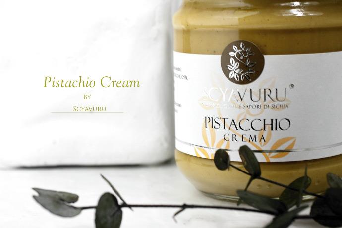 ピスタチオクリーム シャブル社 イタリア産 (Italian Pistachio cream by Scyavuru)