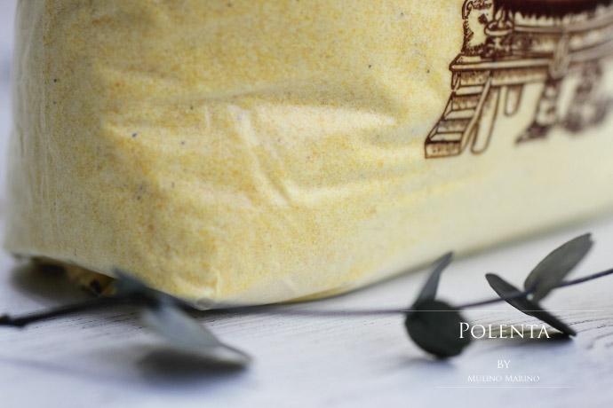 イタリア産ポレンタ粉 ムリーノ・マリーノ社 (Italian Polenta powder by Mulino Marino)