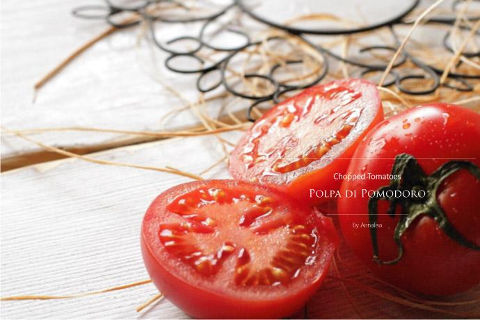 皮むきトマトのざく切り トマトソース アナリサ社 イタリア産 (Italian Chopped tomato sauce by Annalisa) イメージ
