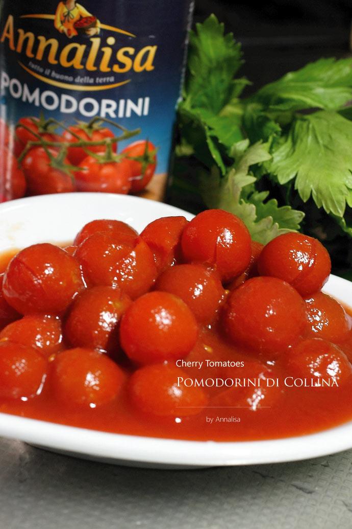 プチトマトソース アナリサ社 イタリア産 (Italian Cherry tomato sauce by Annalisa)