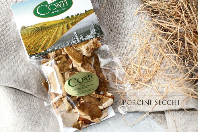 乾燥ポルチーニ茸 コンティ社 イタリア産 (Italian dry porcini by Conti)